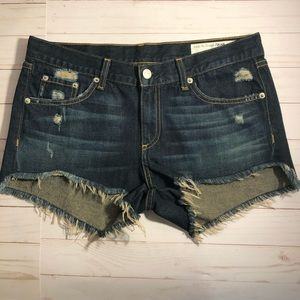 Rag & Bone Denim cut off shorts Doris size 27